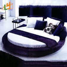 Factory Custom Good Quality Super King Size Modern Luxury Round