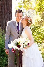 Romantic Rustic Garden Wedding Bride Groom