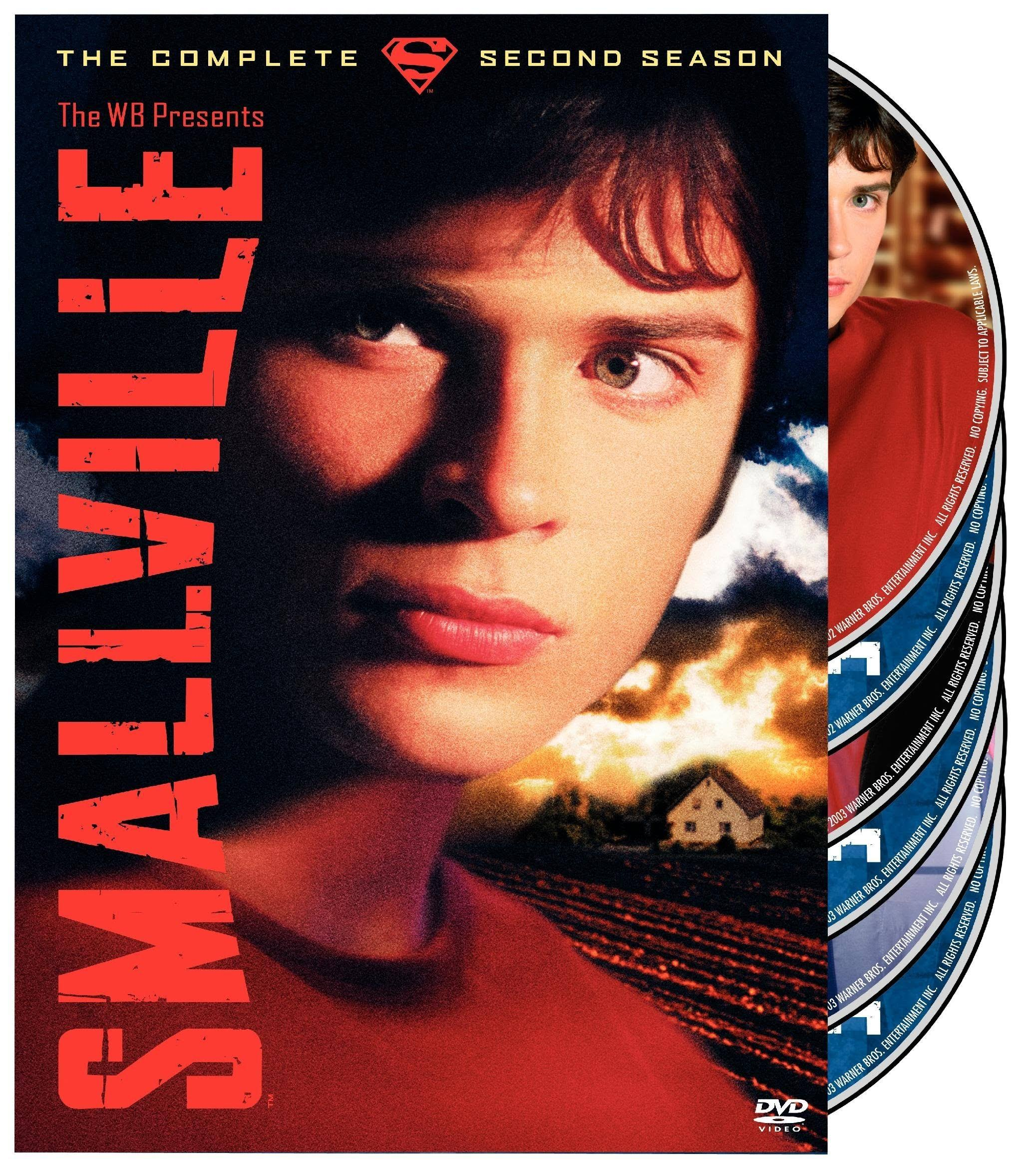 Smallville: The Complete Second Season DVD