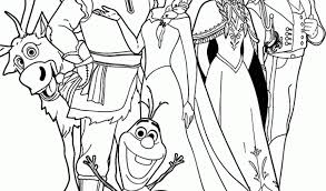 Free Disney Frozen Coloring Pages Holiday Online