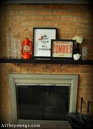 Men Cave And Zombies