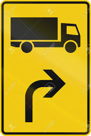 100 Truck Route Sign German Direction For A Stock Photo Picture And