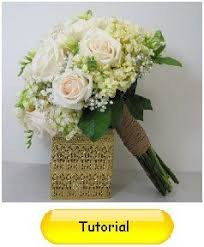 Learn how to make bridal bouquets corsages boutonnieres table