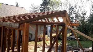 how to build an awesome wood shed from scratch youtube