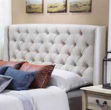 Skyline White Tufted Headboard by Bedroom Design Perfect Button Tufted Queen Headboard Ideas