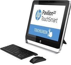 ordinateur de bureau hp tout en un hp paviliion 22 h017nf g7r80ea abf achat ordinateur de bureau