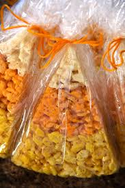 Rice Krispie Treats Halloween Theme by Candy Corn Rice Krispie Treats Amy U0027s Healthy Baking