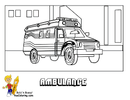 Ambulance Picture To Print Out Coloring At YesColoring