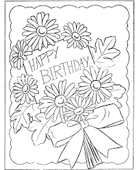 Free Colouring Pages Printable Coloring Birthday Cards New In Ideas Animal