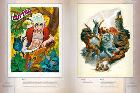 Flesk Publications Has Officially Started Their Kickstarter For The Art Of Elfquest And Line Beauty Check It Out Get In On Action Today