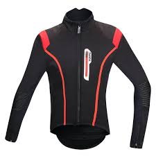 Santic Men Bicycle Jacket Windproof Cycling Jersey Thermal Fleece Sports Clothing MTB Road Bike