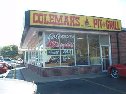 Coleman's Bar-B-Q   Memphis BBQ Guide Memphis Bbq Guide Discovering The Best Ribs And Barbecue At Real Austins Top 10 Fed Man Walking Que Frayser Is More Tops Porktopped Double Cheeseburger Outdoor Kitchen Island Plans As An Option For Wonderful Barbeque Barbq Alabama Bracket Birminghams Jim N Nicks Tops Sams In Brads Has Barbecue Nachos Killer U Shape Outdoor Kitchen Barbeque Decoration Using Cream