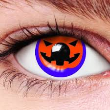 Halloween Prescription Contacts Uk by Halloween Pumpkin Contact Lenses
