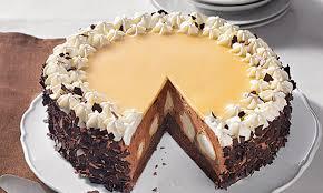 schokosahne windbeutel torte