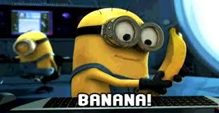 Banana Minions GIF