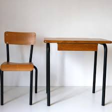 bureau ecolier bureau ecolier noir la marelle mobilier vintage pour enfants