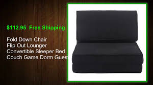 Flip Chair Convertible Sleeper by Best Choice Flip Chair Bed Costway Youtube