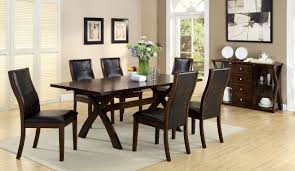 Toronto Dining Table With 6 Chairs CM3339T Stylish And Sleek, This ... Walnut Ding Tables Custmadecom How To Choose The Right Ceiling Light Fixture Size At Lumenscom Kitchen Fniture For Sale Prices Brands Stana Montrose Round Room Set From Lexington Coleman 8 Seat Youll Love Wayfair Modern Contemporary Cantoni 42 Sets Table Chair Combinations That Just Odd Fold Down Amazing Folding With Design And Living Chairs Accent Lazboy On Saleinspirer Studio Of 6 New 17 Inch Seatdepth Eames Style Palouse Customwoodworks Welcome Dinettes Unlimited