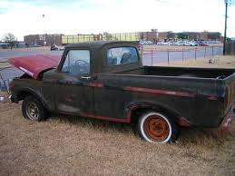 1962 Ford F100 Unibody PROJECT :