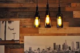 Wine Bottle Light Fixtures For 2017 With Pendant Lights Inspirations