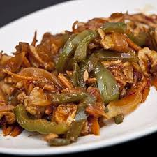 cuisiner les poivrons verts poulet aux poivrons verts et gingembre