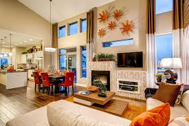 Beige Sectional Living Room Ideas by Wall Mounted Electric Fireplace Living Room Contemporary With