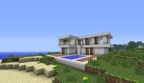 100 Modern Summer House Summer House Minecraft Project