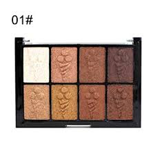 Suoo Go2 8 Colors Eye Shadow Velvet Blushing Makeup Color Wet