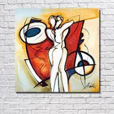 chambre pour amants peint à la amant baiser peinture à l huile abstraite moderne