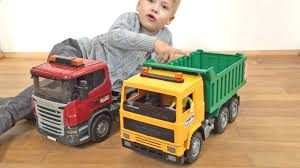 100 Toy Trucks Youtube Bruder S SCANIA 113M Old School Vs Scania RSeries YouTube