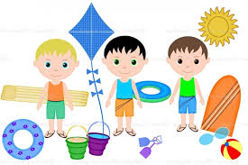 787x524 Summer Kids Clipart