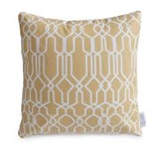 Image Is Loading WATERPROOF OUTDOOR Cushion Cover Sand Beige Geometric Moroccan