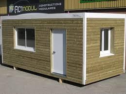 bureau préfabriqué occasion construction modulaire bois