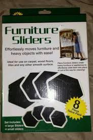 Furniture Sliders For Hardwood Floors by Furniture Sliders Ebay