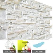3D Wall Panels FRP Faux Brick Panels DIY For Interior Exterior Wall