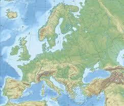 mountain ranges of europe relief map of europe mountain ranges mirós
