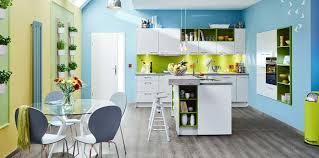 die küche farbenfroh gestalten wohnen
