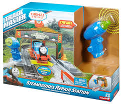 Thomas The Train Tidmouth Shed Trackmaster by Image Trackmaster Revolution Steamworksrepairstationbox Jpg