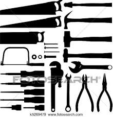 New Hand Tools Woodworking Clipart Free And