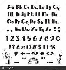 Kleine Letters Alfabet Printen