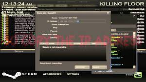 killing floor how to connect 2 a server throught ip address youtube