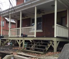 How to Build a Handrail For Your Porch Safer Stairs In 3 hours