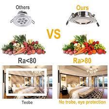 led einbaustrahler flach 230v 5w led spots schwenkbar deckenspot warmweiß 3000k runden stahl ip20 einbauspot für wohnzimmer schlafzimmer küche
