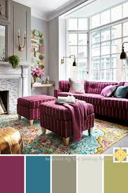 Teal Living Room Ideas by Bright Color Palettes For Your Home Interiors By The Sewing Room