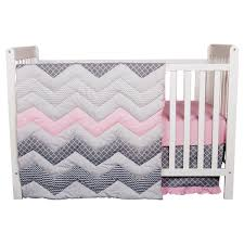 Coral And Mint Crib Bedding by Crib Bedding Sets Trend Lab