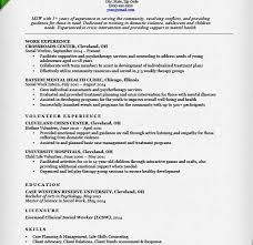 Clinical Social Worker Resume Examples Workers Work