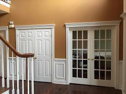 After Ideas Charming Picture Frame Molding Wall Heres A Dining