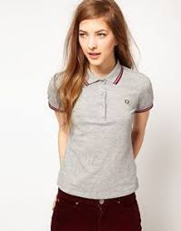 Polo Shirt Outfits Womens Shirts Girl Women Office Work Western Fred Perry Dress