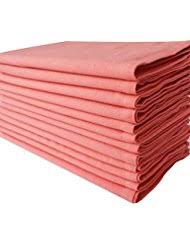Coral Colored Decorative Items by Amazon Com Orange Cloth Napkins Kitchen U0026 Table Linens Home
