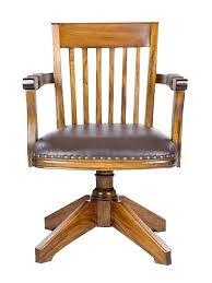 fauteil bureau fauteuil de bureau américain en acajou boston meuble de style